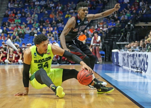 As it has many times before, senior Ish Wainright's hustle propels Baylor to NCAA tournament win