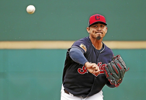 MRI shows no structural damage to Indians' Carlos Carrasco's sore right elbow