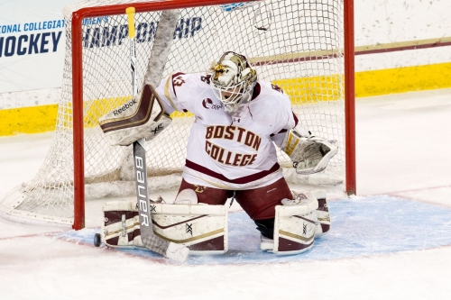 END 2: BC 0, UW 0 — The Eagles are giving the #1 team in the country a run for their money