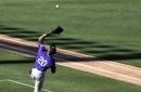 Ian Desmond making progress as Rockies' first baseman, despite injury