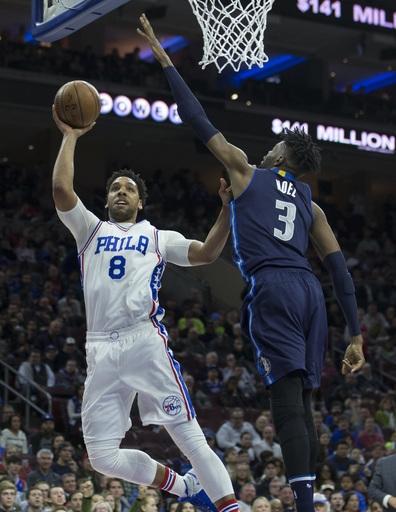 76ers rout Mavericks in Noel's return to Philadelphia The Associated Press