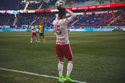 The fight to be the New York Red Bulls' starting right back in 2017 has only just begun