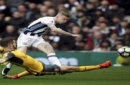 West Bromwich Albion's James McClean shoots as Arsenal's Shkodran Mustafi attempts to block, during the English Premier League soccer match between West Bromwich Albion and Arsenal, at The Hawthorns, in West Bromwich, England, Saturday March 18,