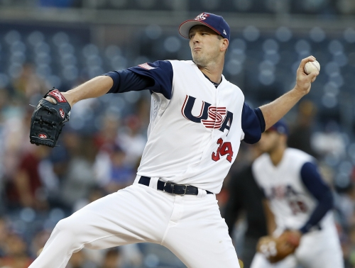 Drew Smyly was all smiles after returning to Mariners after standout World Baseball Classic start