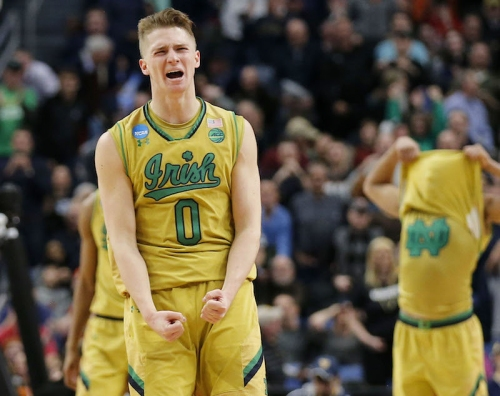 NCAA Tournament scores: Notre Dame vs. West Virginia LIVE SCORE UPDATES (3/18/17) March Madness time, TV, channel