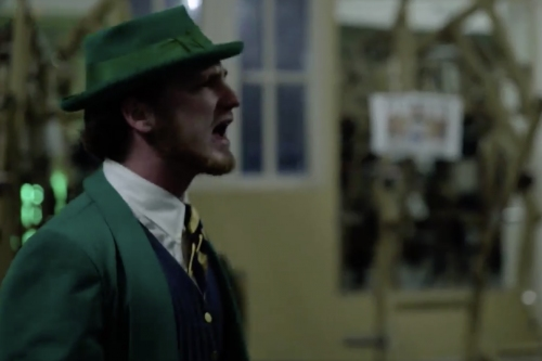 WATCH: Notre Dame Football's St. Patrick's Day Lift