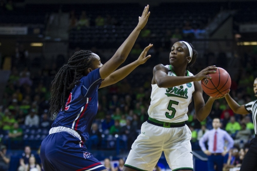 Frosh in big roles for Notre Dame, Purdue in NCAA Tourney matchup