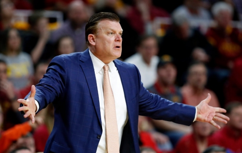Brad Underwood's departure from Oklahoma State to Illinois surprises Bill Self