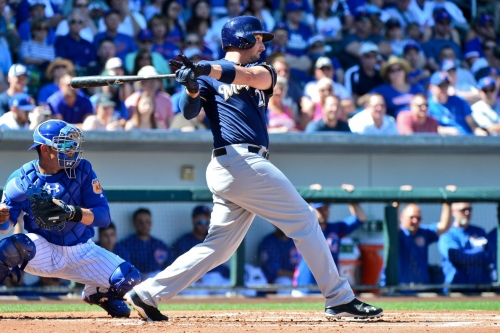 Milwaukee Brewers beat Chicago Cubs 13-7 in an explosion of offense