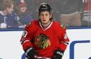 John Hayden scores 1st NHL goal in 2nd game with Blackhawks