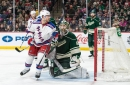Wild plagued by missed opportunities, fall to Rangers 3-2