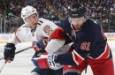 Rick Nash can take a punch, but he's sure not happy about it