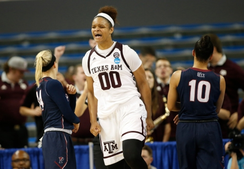 Texas A&M women overcome21-point fourth-quarter deficit to shock Penn in NCAA tournament