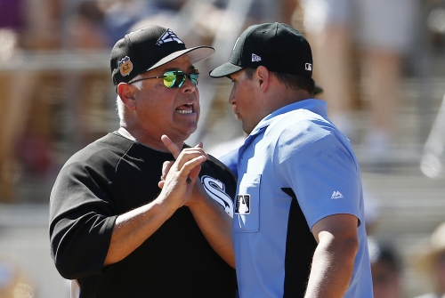 White Sox manager Rick Renteria ejected in 13-7 loss