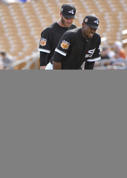 White Sox' Juan Minaya out with abdominal tear