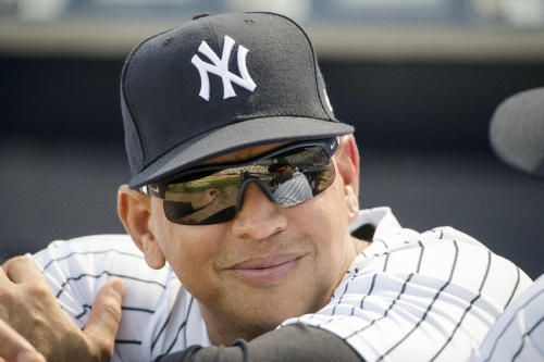 A-Rod takes J-Lo out to the ballgame The Associated Press