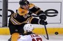 Bruins' Noel Acciari, Sean Kuraly in town to provide insurance