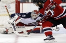 Blue Jackets score 2 on penalty shots, clinch playoff spot The Associated Press