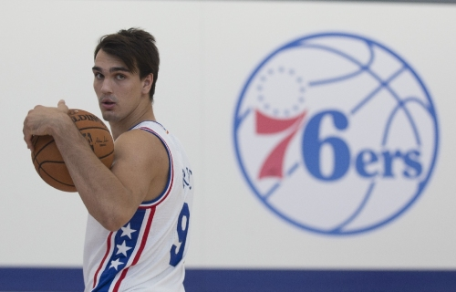 Saric soars as Sixers rally to dump Celtics
