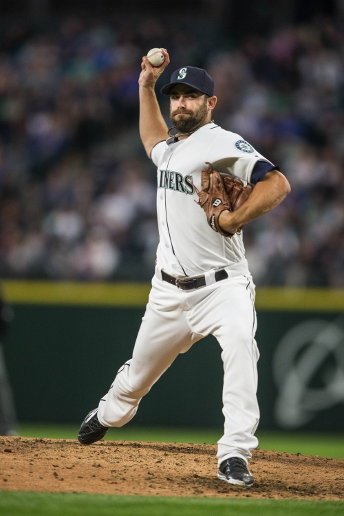 Mariners reliever Tony Zych ready to pitch in a Cactus League game this week