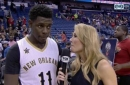 Jrue Holiday on impact of Crawford in win over Minnesota