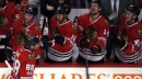 Blackhawks strike fast in third, rally past Avs 6-3