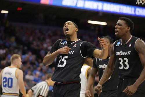 Bearcats fall to UCLA 79-67