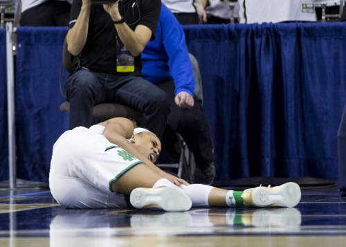 Lesar: Brianna Turner's knee becomes Notre Dame's focus as Irish survive in OT