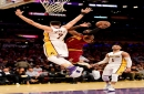 Kyrie gets 46, but Cavaliers barely beat Lakers, 125-120 The Associated Press