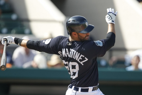 Spring training 2017: Tigers seeking 2nd opinion on J.D. Martinez's right foot injury