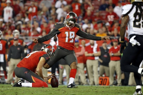 Buccaneers signed Nick Folk, another reminder that drafting a kicker early is always a mistake