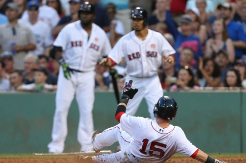 A changing of the guard in the Red Sox clubhouse