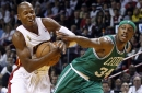 Rajon Rondo says Boston Celtics will have 10-year anniversary for '08 title -- and Ray Allen is not invited