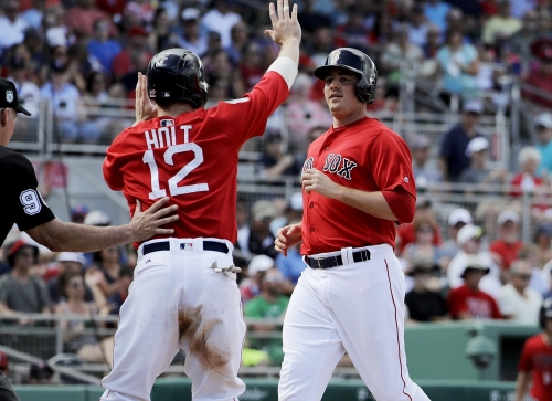 Steve Selsky, Boston Red Sox roster newcomer, having strong spring, receiving 3B reps as Pablo Sandoval insurance