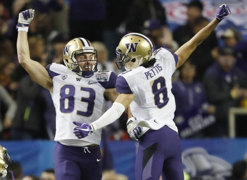 UW Huskies spring football preview: Dante Pettis takes over as No. 1 target for young wide receiving corps
