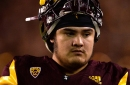 ASU Football: Cohl Cabral setting tone in prep for left tackle role