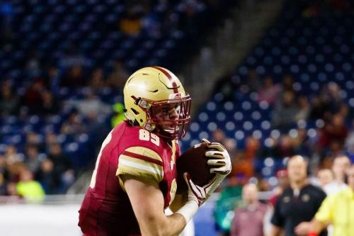 Boston College Football Recruiting: 2018 TE/DE Joey Luchetti Commits To Eagles