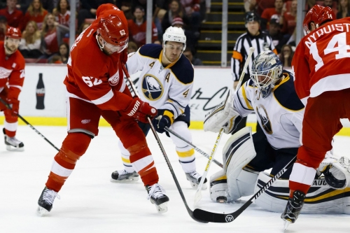 Sabres at Red Wings Coverage: Game #73