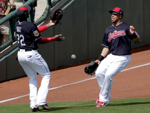 Back from shoulder woes, Indians' Brantley gets 2 hits The Associated Press