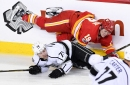 Flames Forward Matthew Tkachuk Suspended for 2 Games