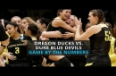 Watch: Oregon Ducks advance to Sweet 16 with upset with over Due Blue Devils, game by the numbers
