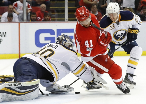 Red Wings slip further into division basement with loss to Sabres