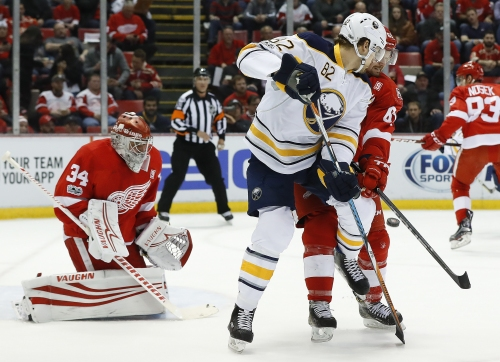 Eichel-led Sabres beat Red Wings 2-1 on power-play goals The Associated Press