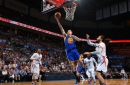 Thompson's 34 help Warriors top Thunder in chippy game The Associated Press