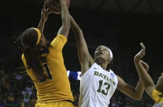 Baylor women 9th straight Sweet 16 after 86-46 win over Cal (Mar 20, 2017)