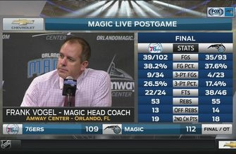 Frank Vogel: 'You gotta find energy when it's not naturally there'