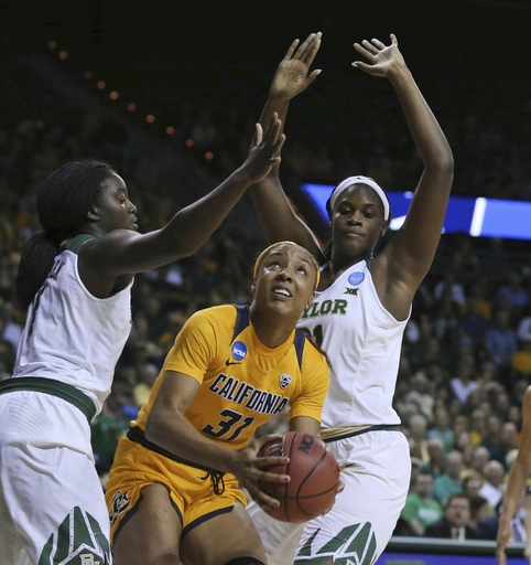 Baylor women 9th straight Sweet 16 after 86-46 win over Cal The Associated Press