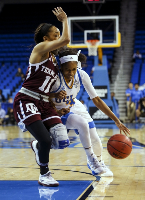UCLA knocks out Texas A&M women in March Madness
