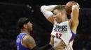 Griffin scores 30 and Clippers cruise by Knicks 114-105