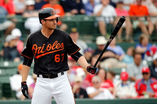 Trey Mancini still doesn't have a spot on the Orioles